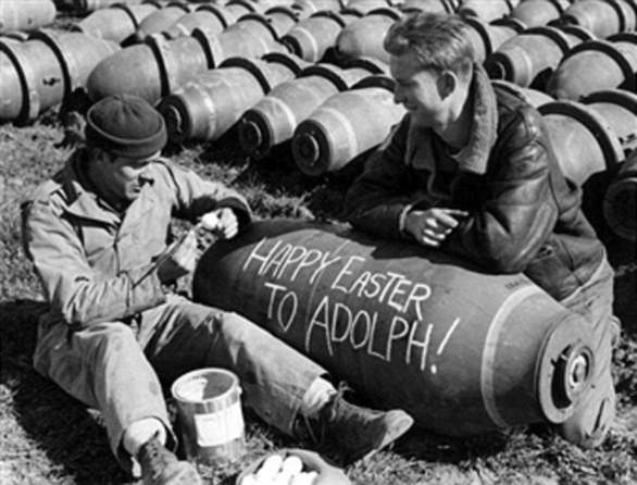 Bombs with messages
